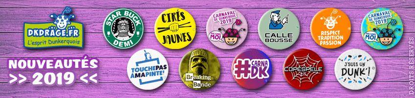 Nouveaux badges 2019