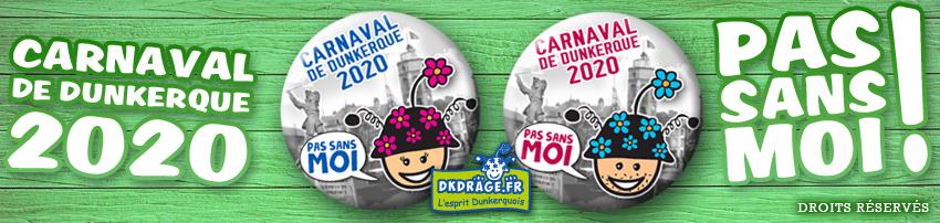 Badge Carnaval de Dunkerque 2020
