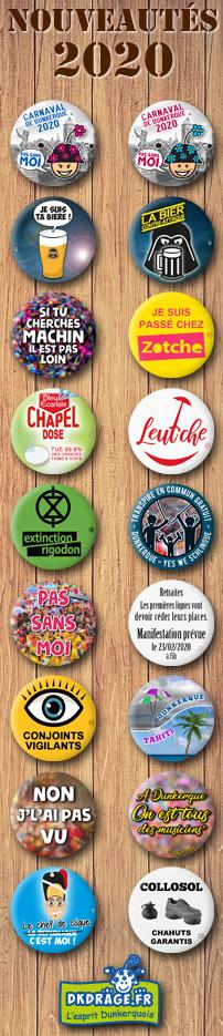 Nouveaux badges 2020