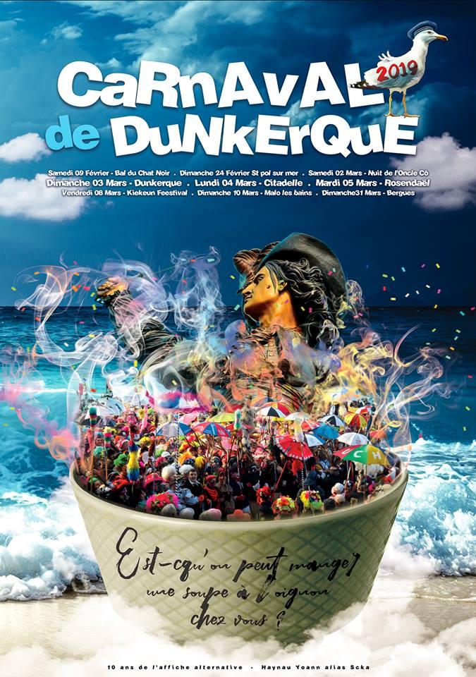 Calendrier Carnaval 2021 Dunkerque Les affiches du Carnaval de Dunkerque   Carnaval de Dunkerque.info