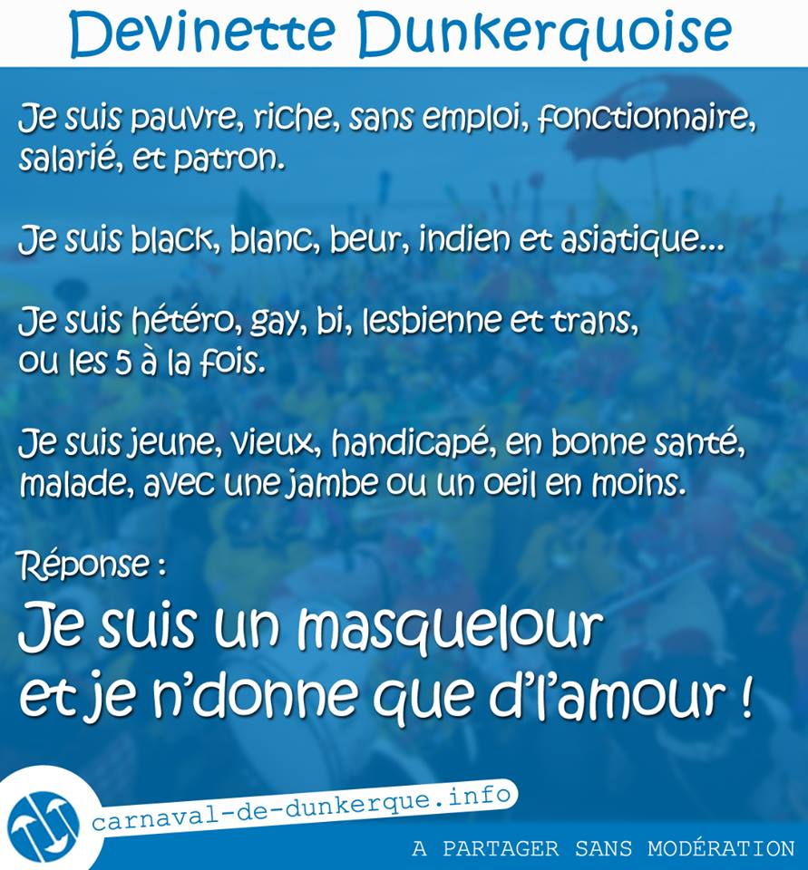 devinette dunkerquoise